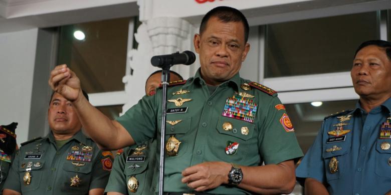 Panglima TNI Jenderal Gatot Nurmantyo (IST)