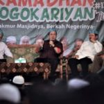 Pengajian di Masjid Jogokariyan yang dilarang live streaming oleh polisi (IST)