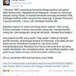 Ahoker Kang Hasan memfitnah Jusuf Kalla atau JK (IST)
