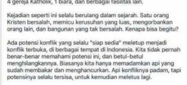 Ahoker Fitnah Jusuf Kalla Sebut Pernah Terlibat Otak Kerusuhan SARA di Makassar