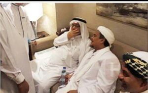 Habib Rizieq saat berada di Arab Saudi (IST)