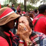 Pendukung Ahok menangis (IST)