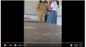 Guru perempuan menampar 4 siswi (IST)