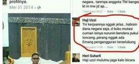Oknum Polisi Haji Uzzi Hina Institusi TNI