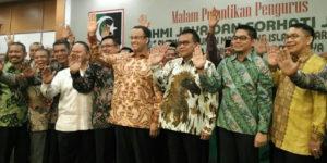 Mohamad Taufik saat dilantik menjadi Ketua Presidium KAHMI Jaya  (IST)