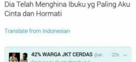 Ibunya Dihina Di Twitter, Wakil Sekjen MUI Ajak Duel
