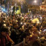 Demo anarkis Ahoker di depan LP Cipinang (IST)