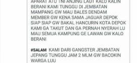 Geng Motor Ini Tantang TNI dan Polisi