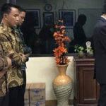 Presiden Jokowi pimpin shalat berjamaah (IST)
