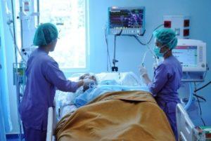 Ilustrasi pasien stroke (IST)