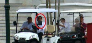 Jokowi Supiri Obama