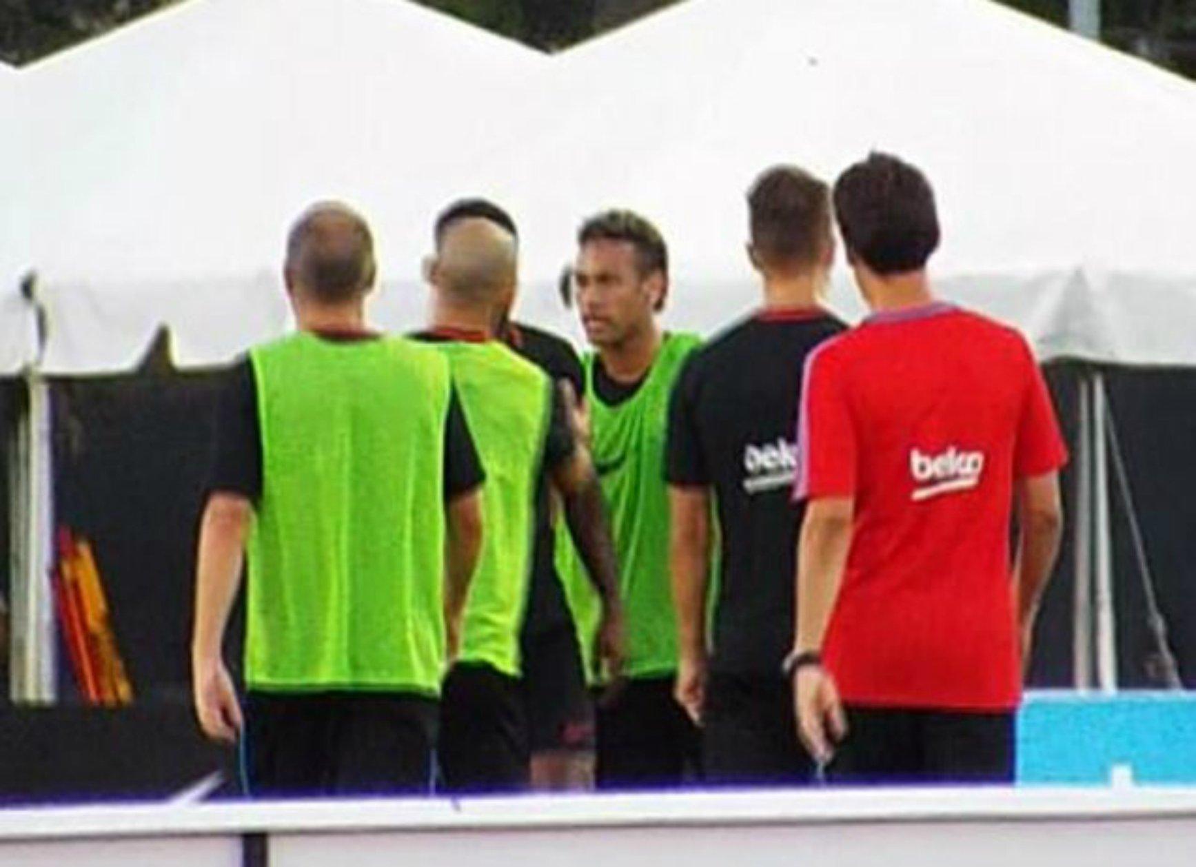 Neymar hampir berkelahi (IST)