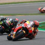 Marquez vs Jonas Folger - Crash