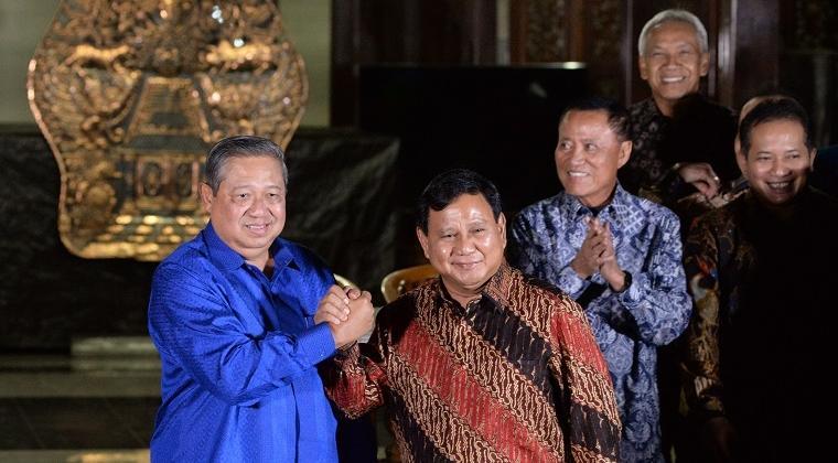 Pertemuan SBY-Prabowo (IST)