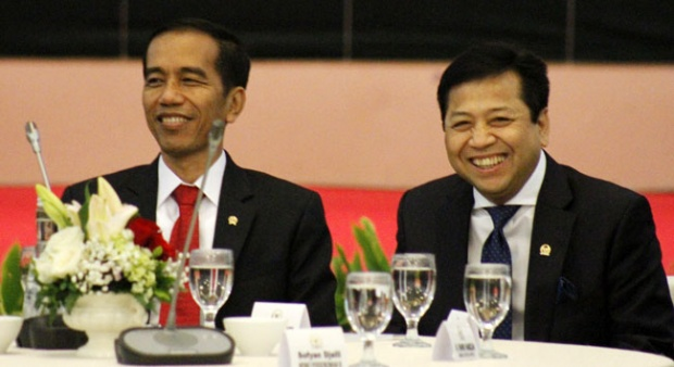 Jokowi dan Setya Novanto (IST)