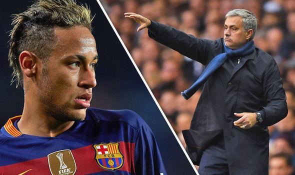 Neymar dan Mourinho (IST)