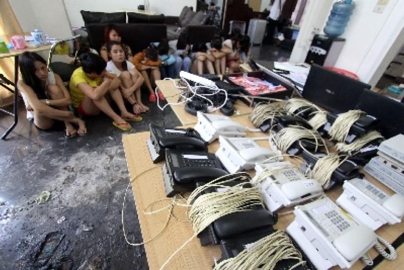 Warga China melakukan kejahatan cyber di Indonesia (IST)