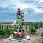 Patung Kwan Sing Tee Koen di Tuban (IST)
