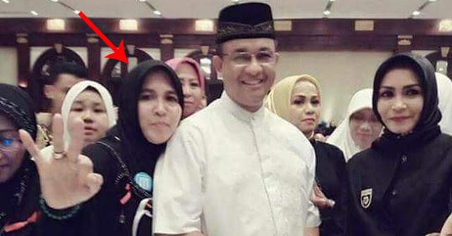 Asma Dewi dan Anies Baswedan (IST)