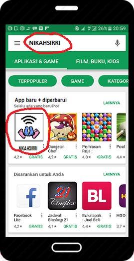 Aplikasi nikahsirri di android - nikahsirri.com