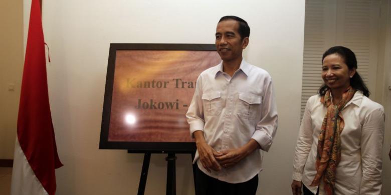 Jokowi dan Rini Soemarno (Dok KOMPAS)