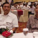 Luhut Pandjaitan dan Jokowi (KOMPAS)