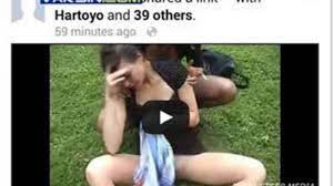 Gambar Video Gadis Mabuk di Facebook