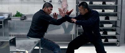 Salah satu adegan dalam film the raid