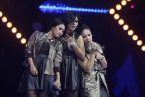 Jad N Sugy  pada penampilan X Factor Indonesia Season 2 -(Sindonews/Isra Triansyah) source: http://lifestyle.sindonews.com/read/1014761/157/jad-n-sugy-tersingkir-dari-x-factor-indonesia-1434738167