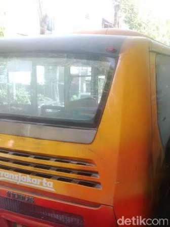 Bus TransJ Merek Inobus - Foto:detikcom