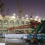 Crane jatuh di Masjidil Haram (IST)