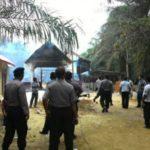 Gereja ilegal di Singkil Aceh dibakar massa (IST)