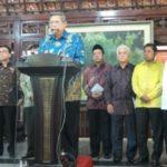 SBY dengan petinggi KMP (IST)