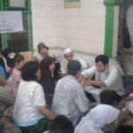 Pengobatan gratis FPI di Koja (IST)