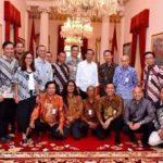 Jokowi dan pegiat media sosial (IST)