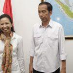 Rini Soemarno dan Jokowi (IST)
