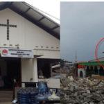 Gereja di Pulo Mas dan Masjid yang dihancurkan Ahok (Ist)