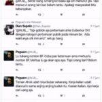 Penjilat Ahok bertengkar di Twittter (IST)