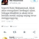 Pernyataan Abi Hasanto (IST)