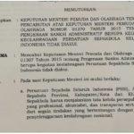 SK pencabutan pembekuan PSSI oleh Menpora (IST)