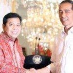 Setya Novanto dan Presiden Jokowi (IST)