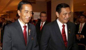 Jokowi dan Luhut Binsar Pandjaitan (IST)