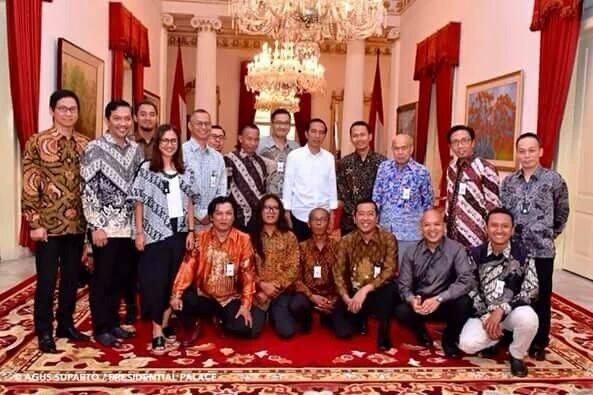 Pegiat media sosial yang diundang Jokowi di Istana (IST)