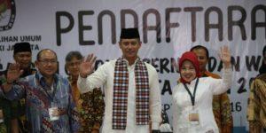 Agus Yudhoyono dan Sylviana Murni (IST)