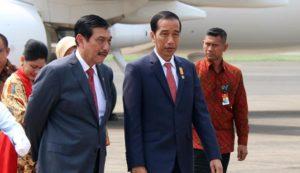 Luhut Panjaitan dan Jokowi (IST)