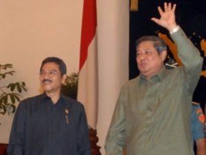 Gamawan Fauzi dan SBY (IST)