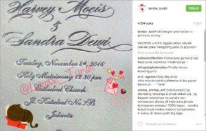 Undangan Pernikahan Sandra Dwi