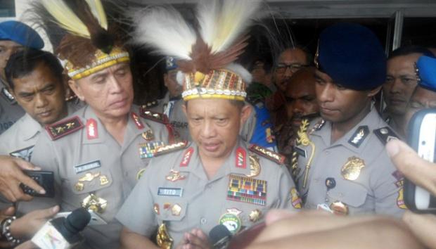 Kapolri Jenderal Pol Tito Karnavian (IST)