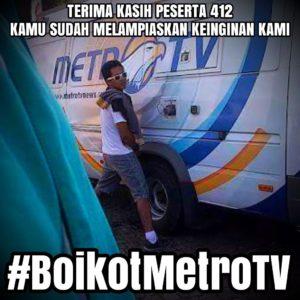 Boikot Metro TV (IST)