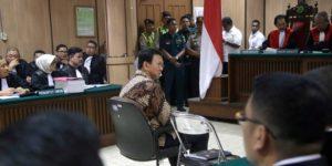 Ahok di pengadilan (IST)